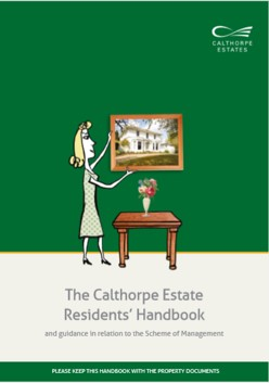 New Calthorpe Estates Residents' Handbook